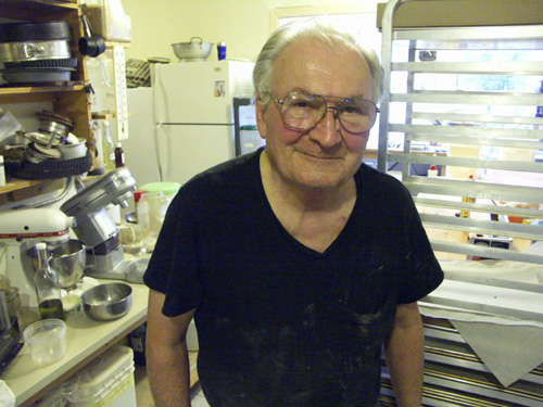 Bob McQuade, 78. Korea combat veteran, artist, ex-executive chef, husband to ballet mistress. Abilities include bricklaying, deer-hunting and bread-baking.